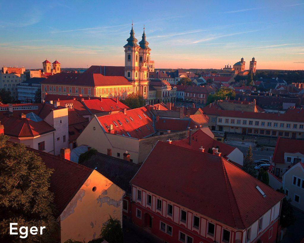 Eger matkat Unkariin resor ungern