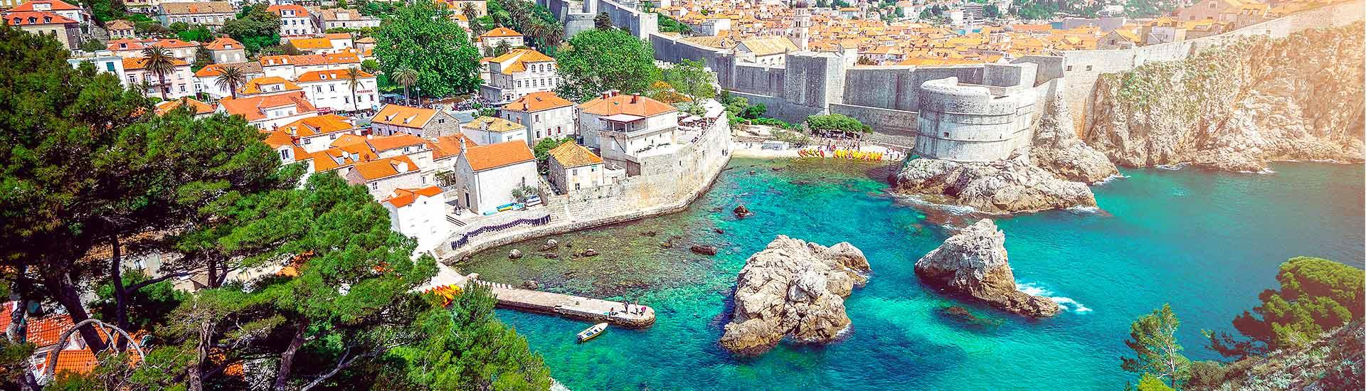 Balkans pärlor resa till dubrovnik