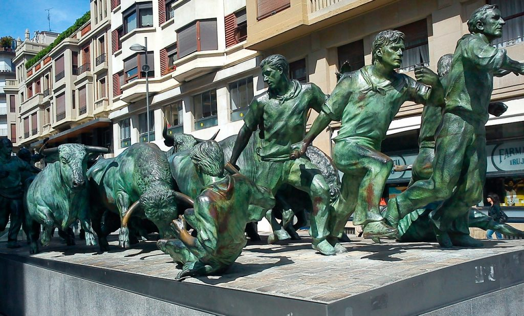 Pamplonan härkäjuoksut, Baskimaa Espanja