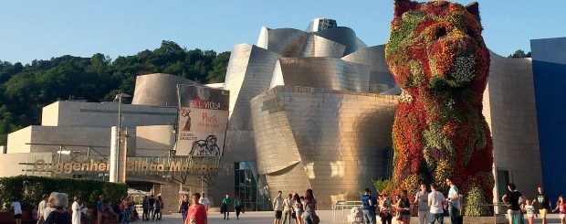 Guggenheim-museo, Bilbao, Espanja