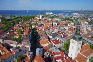 Blomsterresa till Türi, Estland, TALLINN