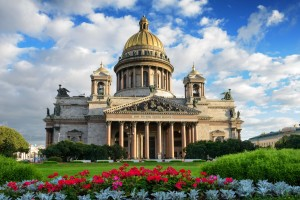 Isakskatedralen St Petersburg