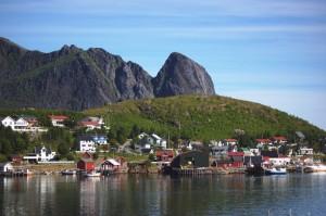 Norge, Lofoten Bysamhälle