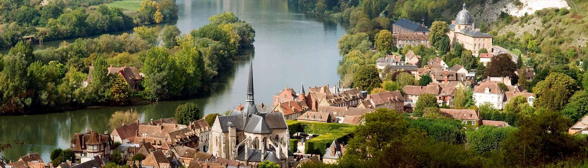Matka Ranskaan Seine jokiristeily