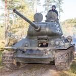 Okänd Soldat Harparskog tank 2017