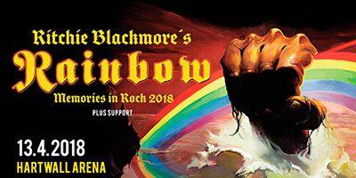 Richie Blackmores Rainbow: resa, biljetter, liput, matka