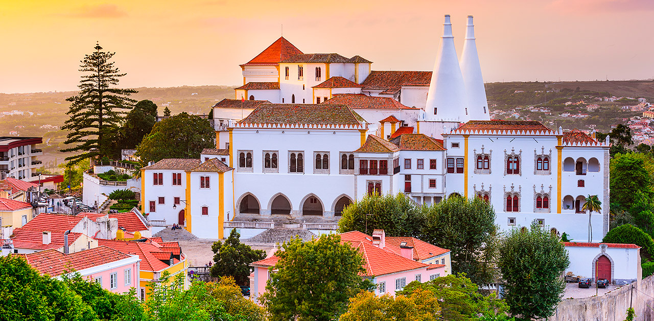 Sintra portugali matkat