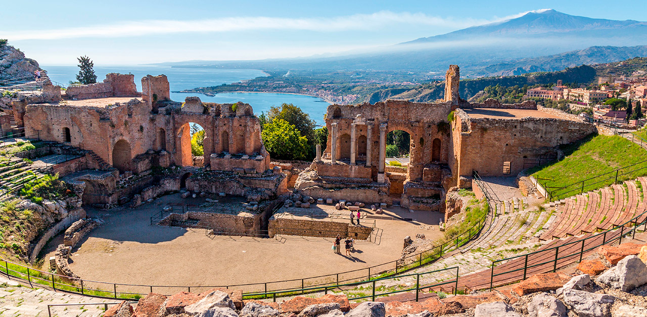 Taormina välimeri matkat etna