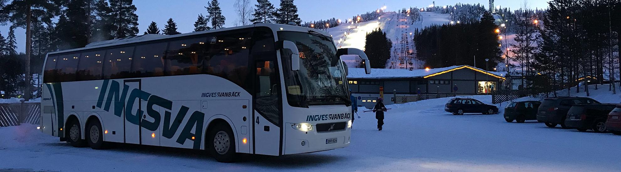 beställningstrafik charter bussar pris